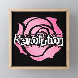 Grant me the power to bring the world revolution! Framed Mini Art Print