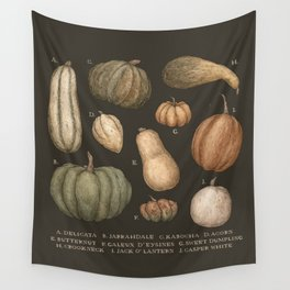 Pumpkins and Gourds Wall Tapestry