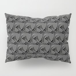 Art Deco Leaning Towers Pillow Sham