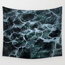 Waves Marble (Color) Wall Tapestry