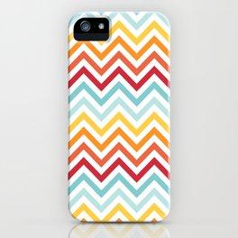 Rainbow Chevron #2 iPhone Case
