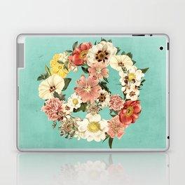 Botanica Peace sign Laptop & iPad Skin