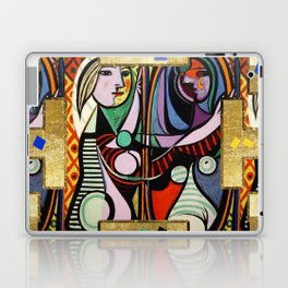 Picasso collage Laptop & iPad Skin