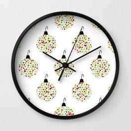 Deck the Tree Wall Clock