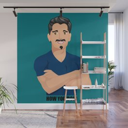 How You Doin Wall Mural