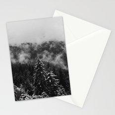Snow Fog Stationery Cards