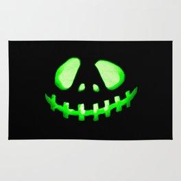 HALLOWEEN. Jack O Lantern : Green Rug