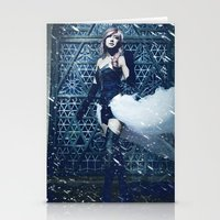lightning Stationery Cards featuring Lightning by Imustbedead