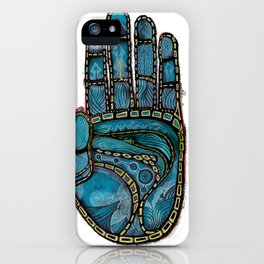 The Hand Of (Free)Time iPhone Case