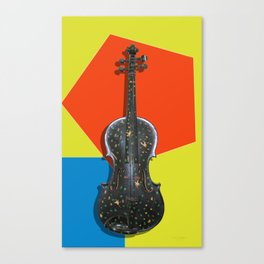 Funky Violin Canvas Print
