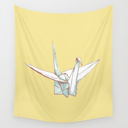 Paper Crane Wall Tapestry