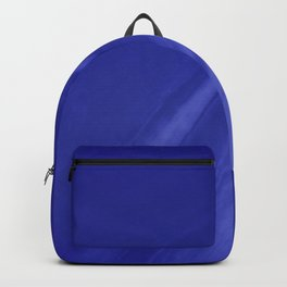 Blurred Royal Blue Wave Trajectory Backpack