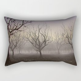 Speedpaint - Halloween Orchard Rectangular Pillow