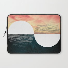 Sunset Moon Horizon Laptop Sleeve