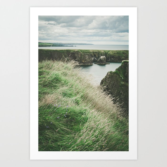 East coast of Scotland Art Print