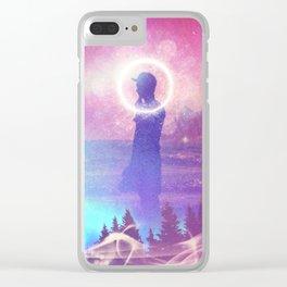 Inquisitive Clear iPhone Case