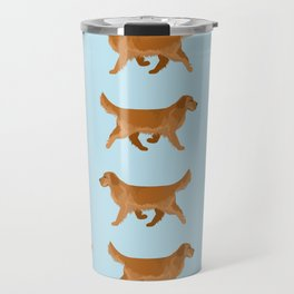 Golden Retriever Love Travel Mug