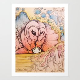 Theif Art Print