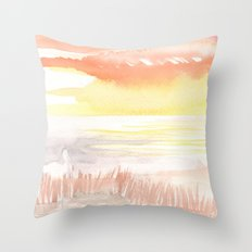 Heron's Head Throw Pillow