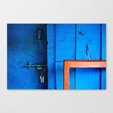 Locked Canvas Print