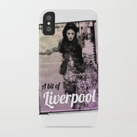 liverpool iPhone & iPod Cases featuring LIVERPOOL by TOO MANY GRAPHIX