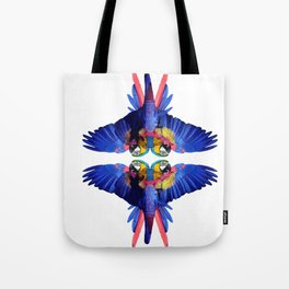 Tropical Elephant by Fernanda Quilici Tote Bag