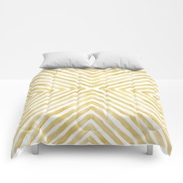 Gilded Bars Comforters