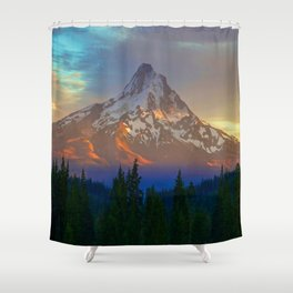 When Adventure Begins Shower Curtain