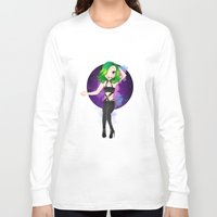artrave Long Sleeve T-shirts featuring artRAVE Aura by Aldo Monster