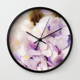 Faded Blue Wall Clock