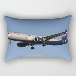 Aeroflot Airbus A321 Rectangular Pillow