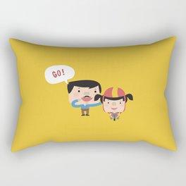 Let's Go! (Yellow Tales Series) Rectangular Pillow