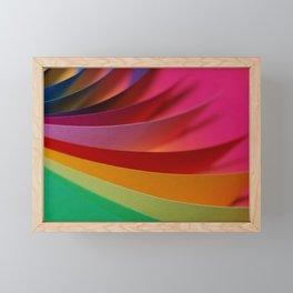 color paper 2 Framed Mini Art Print
