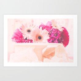 Let Them Eat...Flowers Art Print