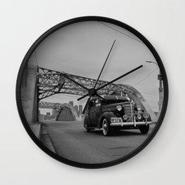 Style & Steel Wall Clock