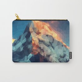 Mountain low poly Carry-All Pouch