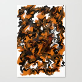 Tyger Tyger Burning Bright DPA180924a Canvas Print