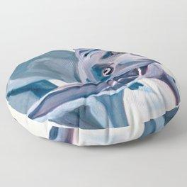 Great Dane Dog Shake Floor Pillow