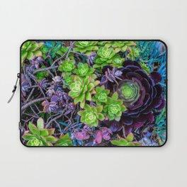 Green Fantasy by Lika Ramati Laptop Sleeve