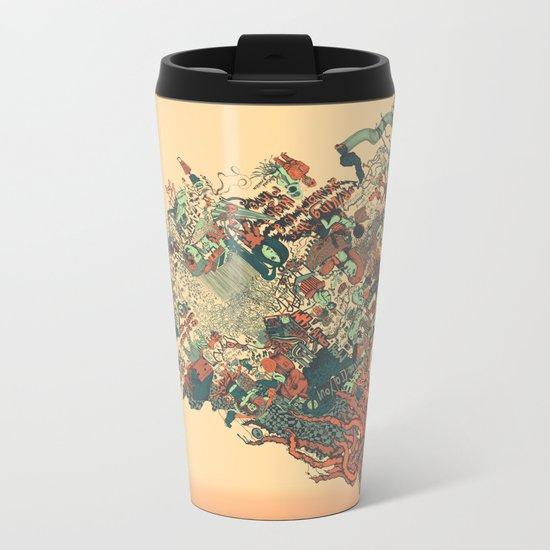 Easy Does It Metal Travel Mug