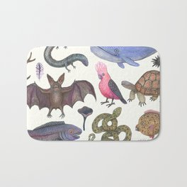Animal Kingdom Bath Mat