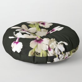 Calanthe rosea Orchid Floor Pillow