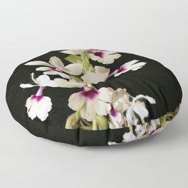 Calanthe rosea Orchid Floor Pillow