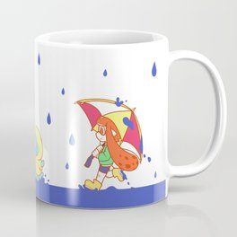 Raining Ink Coffee Mug