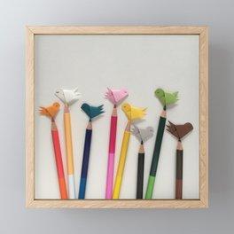 My favourite colours Framed Mini Art Print