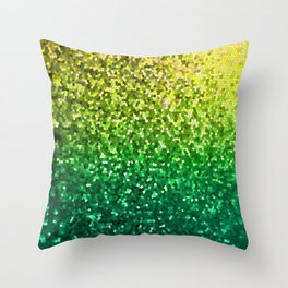 Mosaic Sparkley Texture G202 Throw Pillow