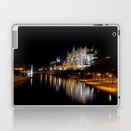 La Seu at night - Mallorca Laptop & iPad Skin