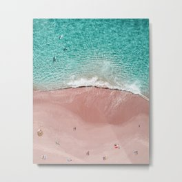 Pink Vacation Metal Print