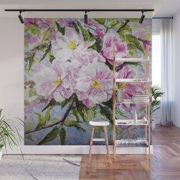 Apple Flowers Blooming Wall Mural