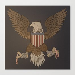 Defending Freedom Canvas Print
